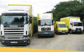 Our fleet of vans and lorries
